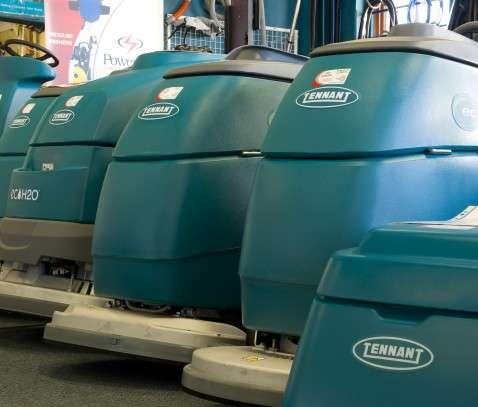 Powervac Tennant scrubbers