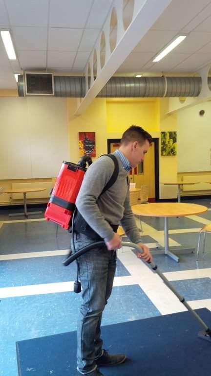numatic rsb140 battery backpack vacuum - Backpack Vacuum