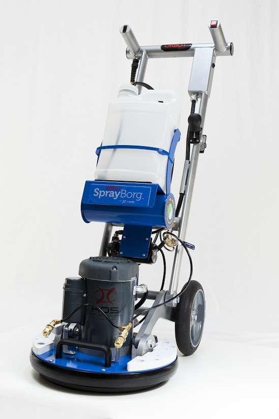 scrubbing machine rental