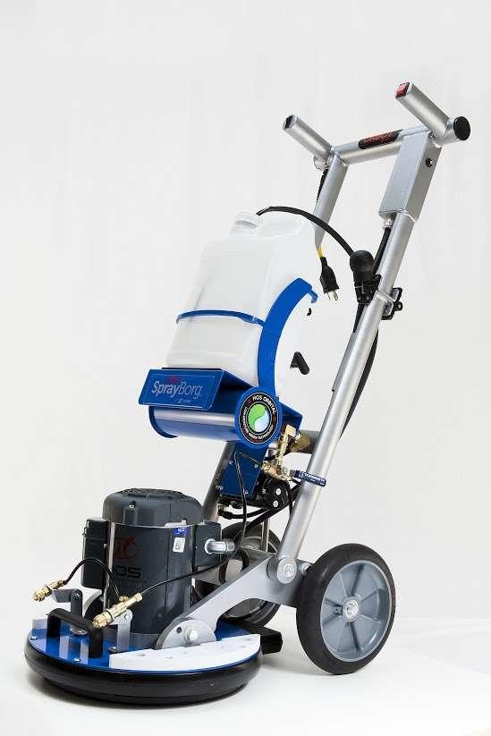 Orbot Orbital Floor Scrubbing Machine Powervac Cleaning