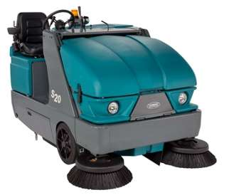 Tennant S20 Industrial Ride On Sweeper Powervac Cleaning