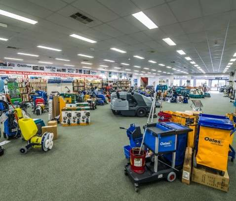 PowerVac showroom from rear LR