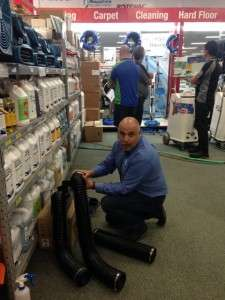 PowerVac carpet cleaners open day 28.8.15 7