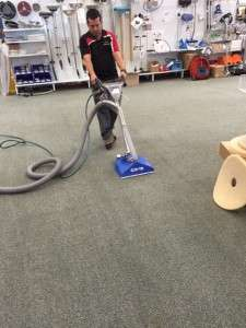 PowerVac carpet cleaners open day 28.8.15 Hydroforce CX15