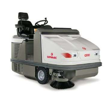 Comac CS100 Ride On Industrial Sweeper PowerVac