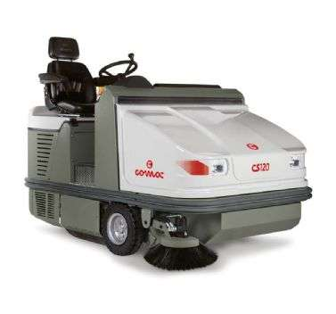 Comac CS120 Ride On Industrial Sweeper PowerVac