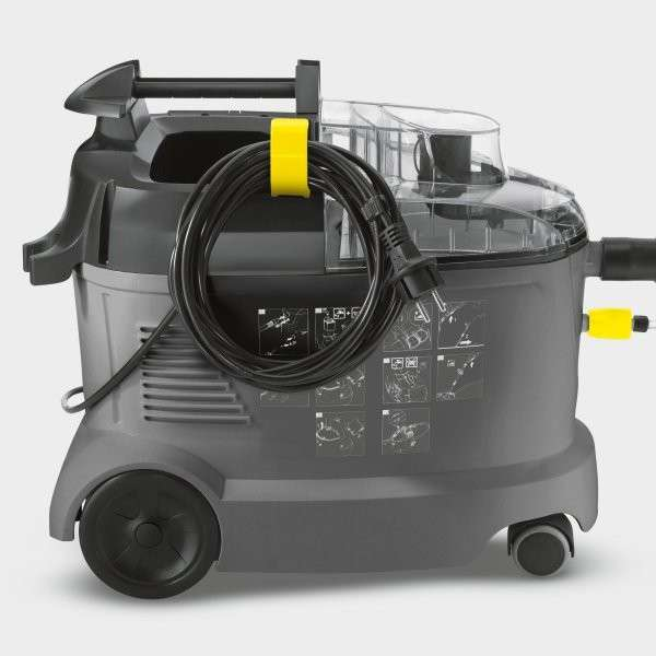 karcher puzzi 8 1 compact upholstery cleaner powervac cleaning equipment service. Black Bedroom Furniture Sets. Home Design Ideas