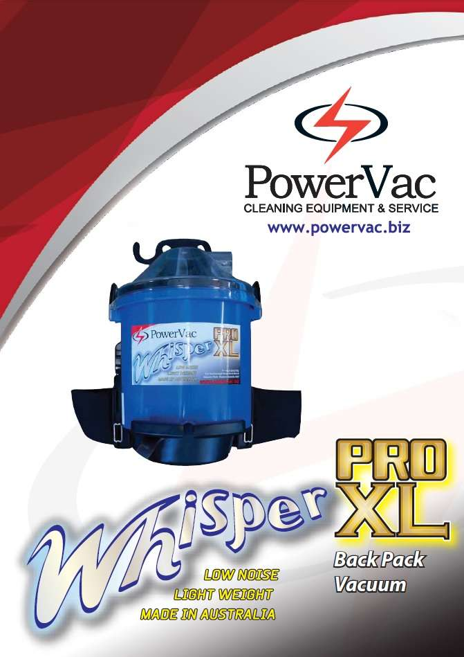 PowerVac Whisper PRO XL Brochure - Thumbnail