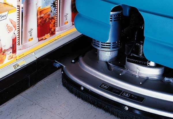 Tennant 5680 Commercial Scrubber Powervac Cleaning