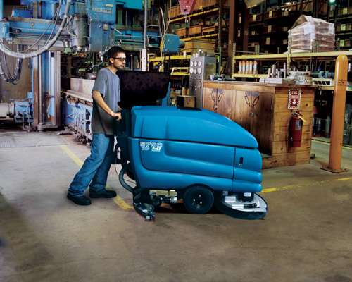 Tennant 5700 Industrial Scrubber Powervac Cleaning