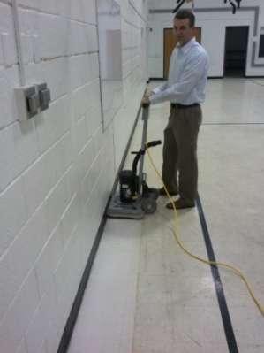 Conquest Edge Stick Floor Scrubbing And Stripping Machine