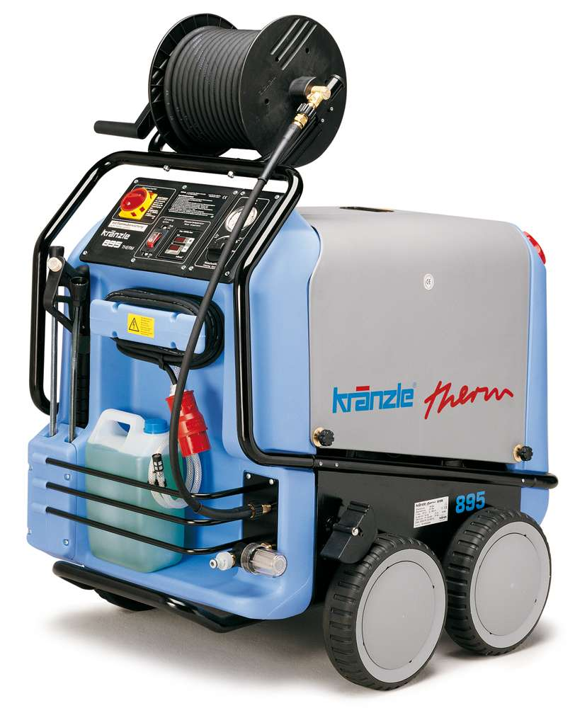 Kranzle Therm 895 1 Heavy Duty Hot Water Pressure Washer