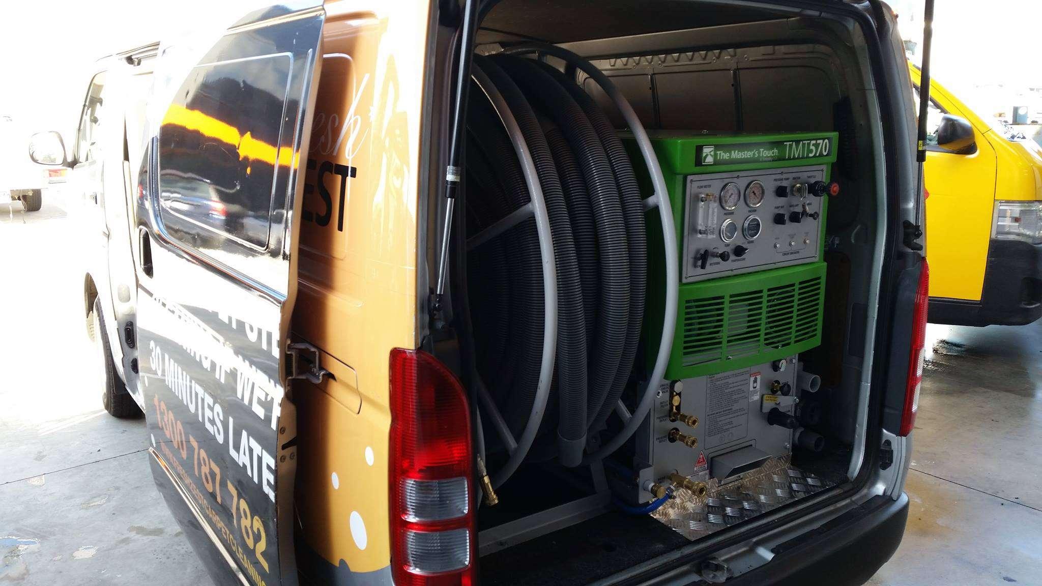 Sapphire Scientific 570ss Truckmount Carpet Cleaner