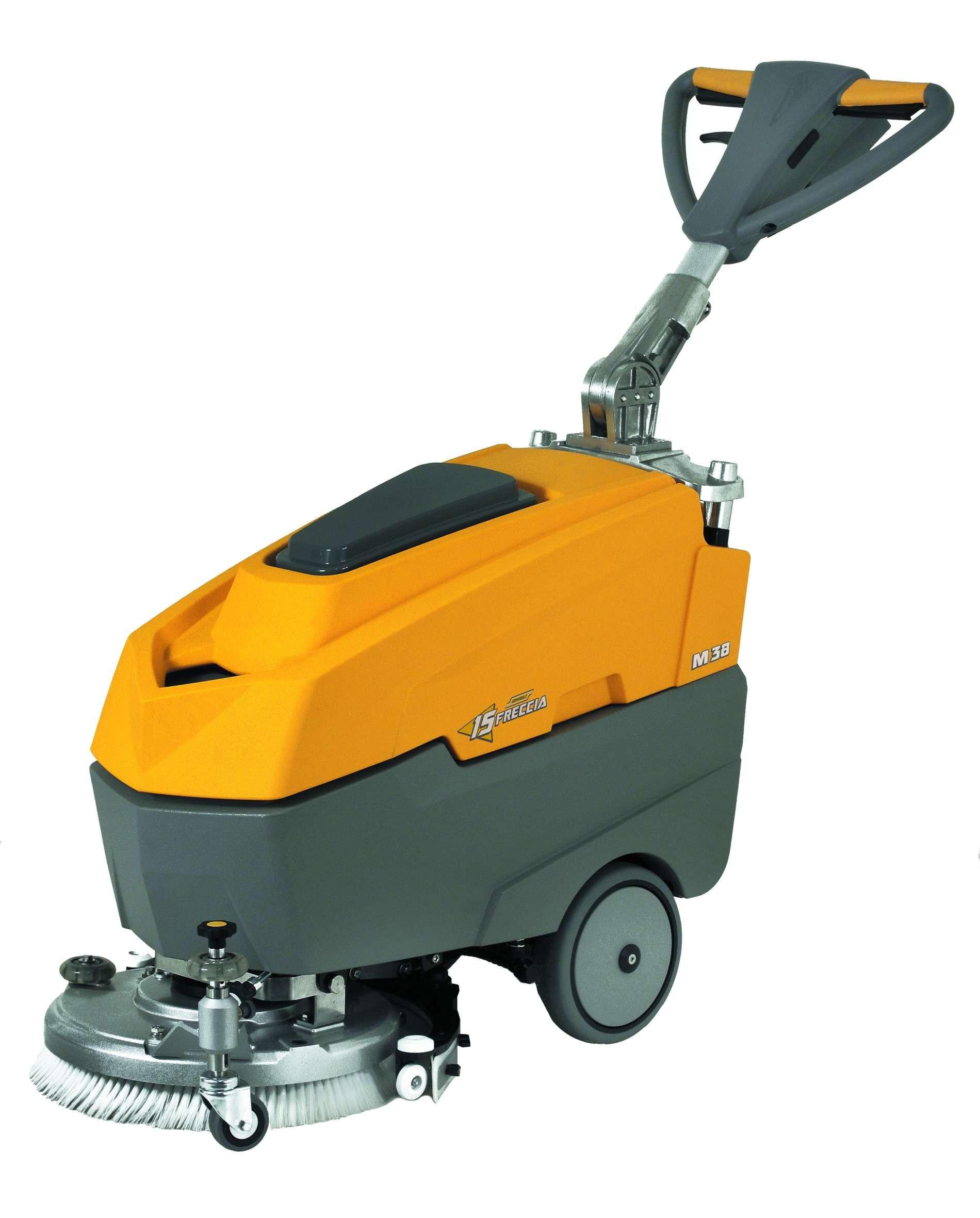 Ghibli freccia 15 compact floor scrubber powervac for Floor scrubber