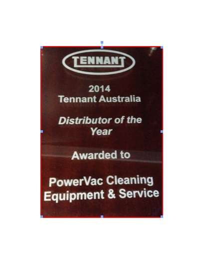 PowerVac Wins Tennant Australia Distributor of the year March 2015