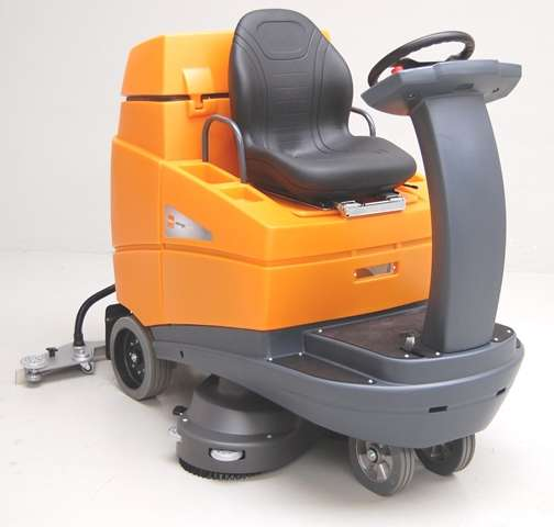 Taski Swingo 5000 Ride On Scrubber Powervac Cleaning