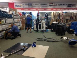 PowerVac carpet cleaners open day 28.8.15 4