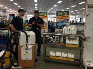 PowerVac carpet cleaners open day 28.8.15 5