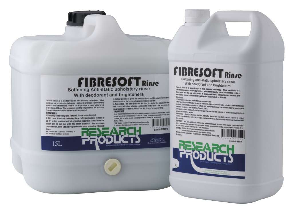 Fibresoft Rinse Powervac Cleaning Equipment Amp Service