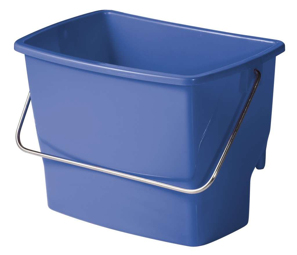 Powervac Cleaning Equipment: Ezy Ergo Side Bucket - 7 Litre