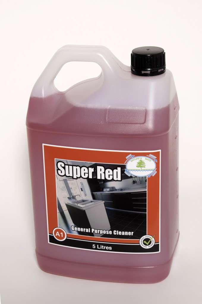 Super Red Multipurpose Cleaner Powervac Cleaning