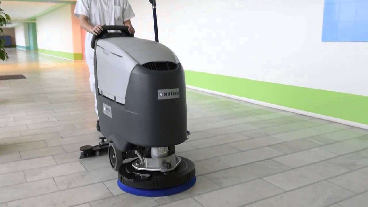Nilfisk Sc500 Floor Scrubber Powervac Cleaning Equipment