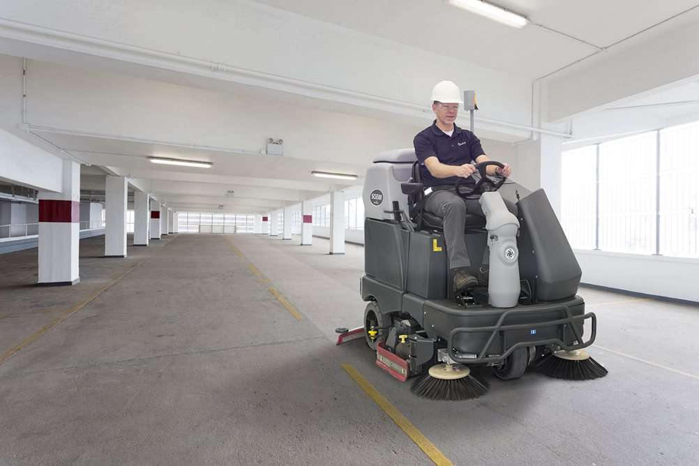 Nilfisk Sc6500 Ride On Floor Scrubber Powervac Cleaning