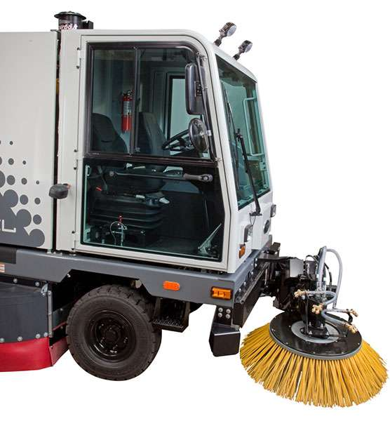 Tennant Sentinel Industrial Sweeper Powervac Cleaning