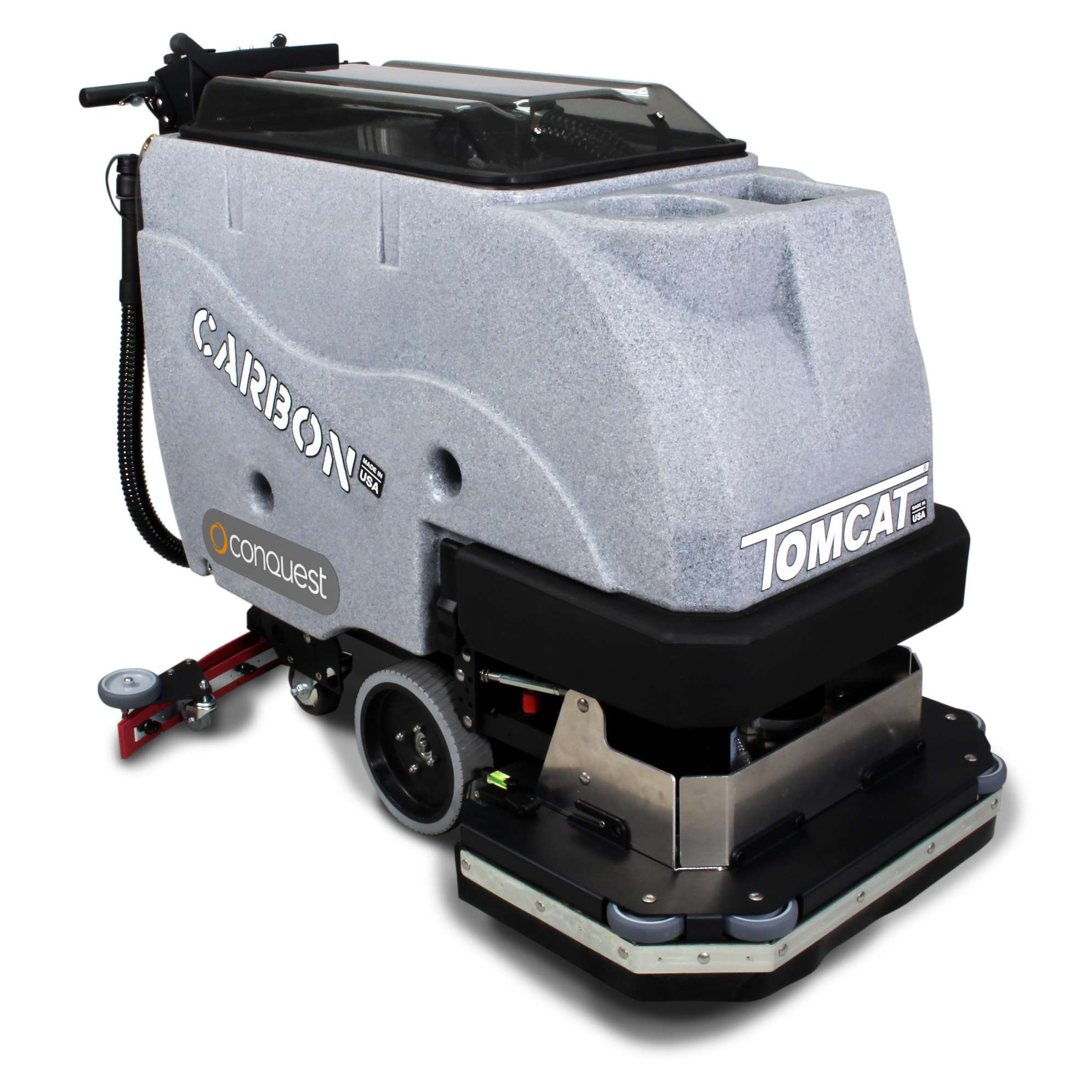 tomcat scrubber products floors angle duty conquest heavy scrubbers front recon floor cleaning powervac