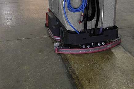 Conquest Tomcat Xr Heavy Duty Floor Scrubber Powervac