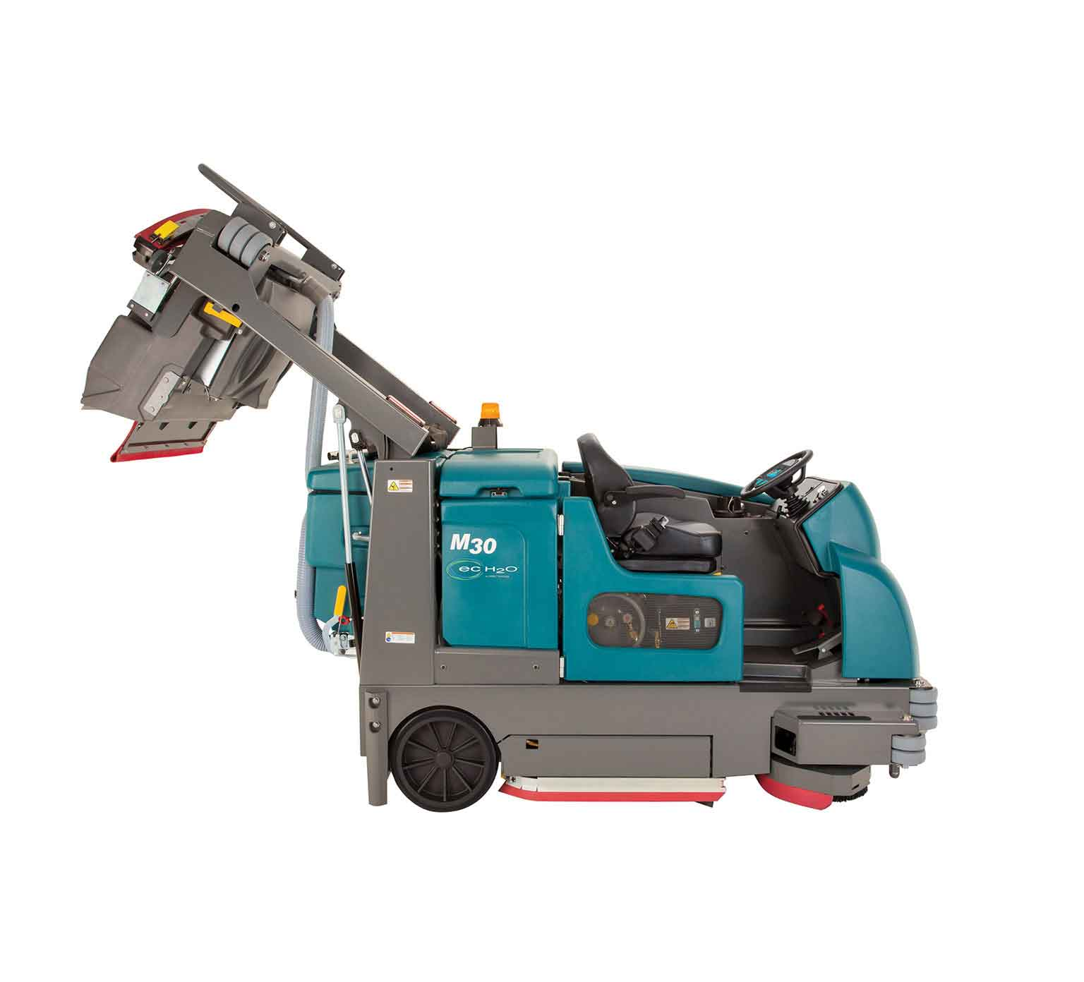 Tennant M30 Sweeper Scrubber Powervac Cleaning Equipment