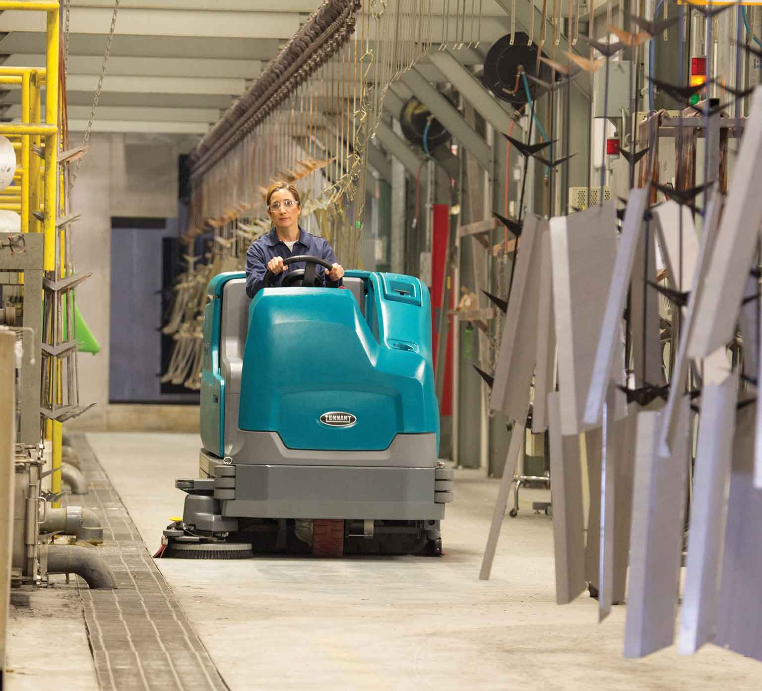 Easy To Clean Commercial Industrial Flooring: PowerVac Cleaning Equipment & Service
