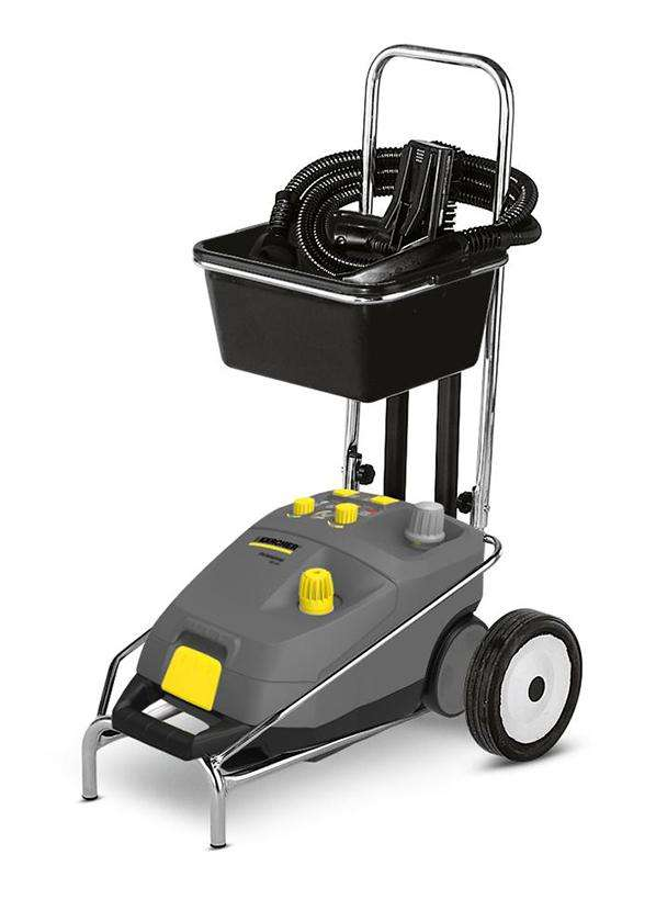 how to use karcher steam cleaner on carpets