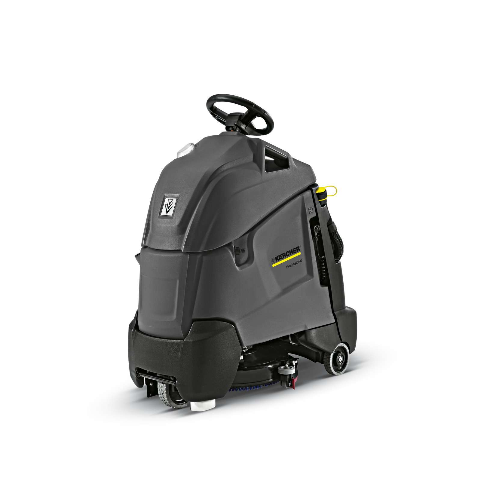 Powervac Cleaning Equipment: Karcher BR50/40 RS Bp Step-on Scrubber