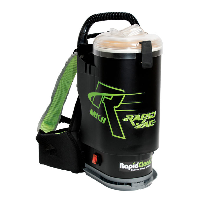 Rapidclean Rapid Vac Mkii Backpack Powervac Cleaning